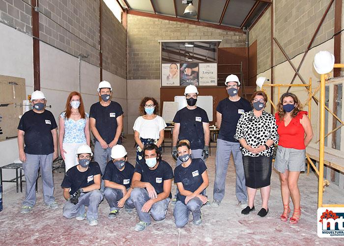 Miguelturra cuenta con un nuevo programa Recual: «Operaciones auxiliares de albañilería 2»