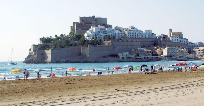 Peñíscola, fortaleza de Papas