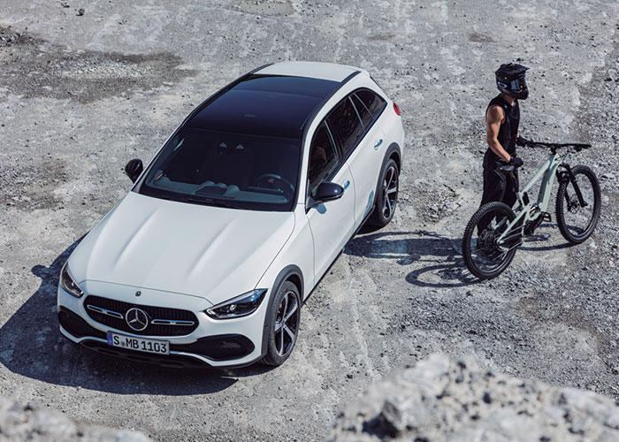 Nuevo multitalento de la Clase C de Mercedes-Benz: la Clase C All-Terrain