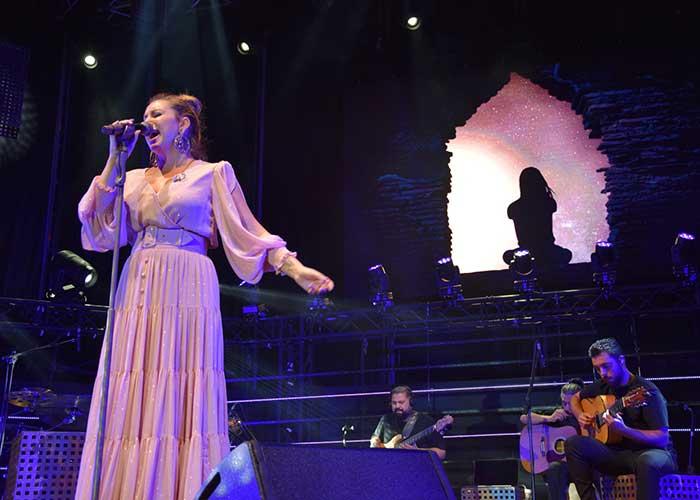 Niña Pastori celebra sus 25 años de carrera en 'Daimiel en Concierto'