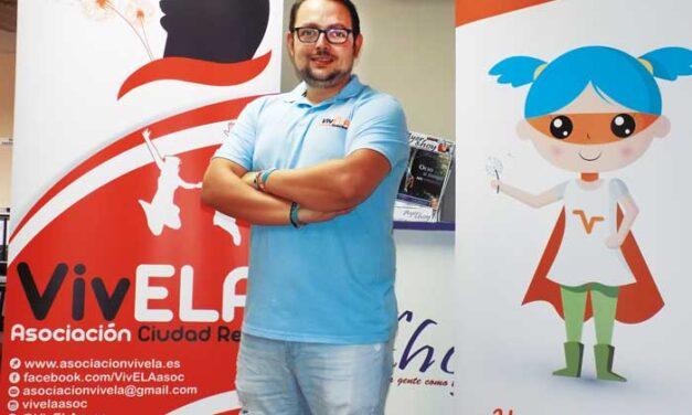 Gonzalo Barrera García-Velasco, presidente de la Asociación VivELA para enfermos y familiares de la Ela